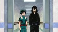 Izuku and Shota at the hospital