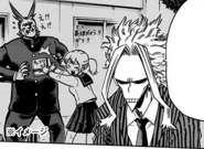 Toshinori explains forceful transfer of One For All