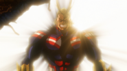 All Might in the hideout