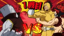 Cementoss vs Eijiro Kirishima y Rikido Sato