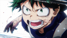 Izuku whatever it takes to be a hero