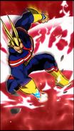 All Might Skill Character Art 6 Smash Rising