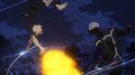 Katsuki evades Twice