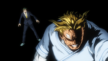 Sir Nighteye warns All Might about his death.