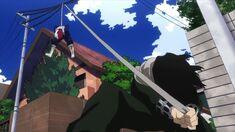 Aizawa captura a Todoroki