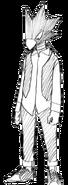 Fumikage Tokoyami civilian profile