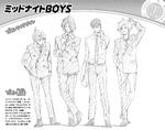 Volume 3 (Vigilantes) Midnight Boys Profile