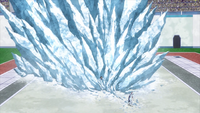 Shoto freezes Hanta