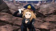 Camie Utsushimi Hero License Exam
