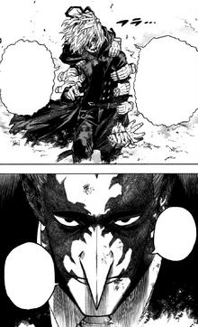 Tomura Shigaraki and Re-Destro face off
