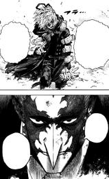 Tomura Shigaraki and Re-Destro face off
