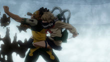 Himiko ambushes Rock Lock