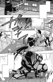 Stendhal assaults Anegawa Tenchu Kai's office