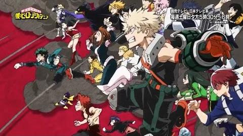Boku no Hero Opening 2 - Peace Sign