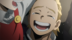 Mirio cries with joy for Eri