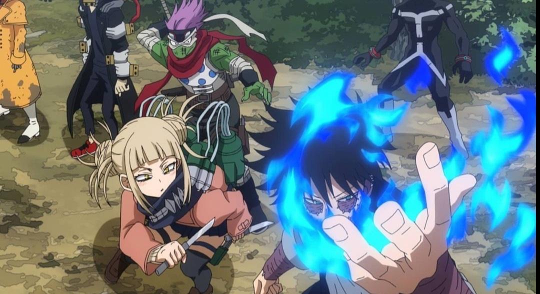 League of Villains confront Slidin' Go