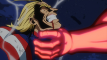 Wolfram chokes All Might