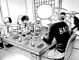 Dinner at Todoroki abode