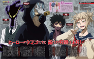 League of Villains Jump Magazine Profiles