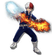 Shoto Todoroki One's Justice 2 Design