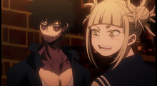 Dabi and Himiko relieved over Tomura deciding not to kill them