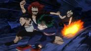 Izuku, Eijiro and Tenya rescue Katsuki