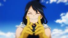 Nana Shimura's smile