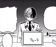 Shoto decides on his hero name