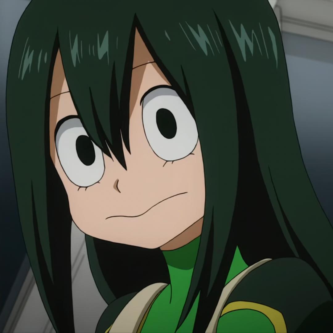 Asui Tsuyu // BNHA | My hero academia tsuyu, Anime, Hero