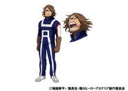 Jurota Shishida TV Animation Design Sheet