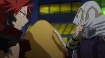 Tamaki está avergonzado