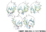 Tamaki Amajiki Character Design 1