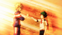 All Might and Izuku agree to fight back against fate