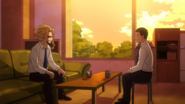Conversation between Toshinori Yagi and Naomasa Tsukauchi