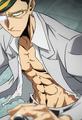 Sir Nighteye es delgado y musculoso