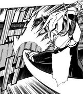 Tensei uses Recipro Burst