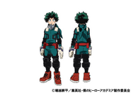 Izuku Midoriya 2nd Costume TV Animation Design Sheet