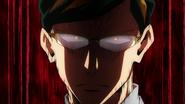 Sir Nighteye angry with Izuku