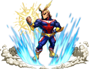 Brave Frontier All Might Unit Art