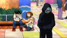 Izuku, Ochaco and Tomura
