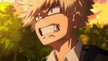Katsuki llorando