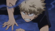 Katsuki watches All For One