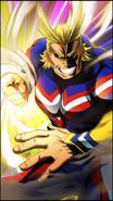 All Might Character Art 1 Smash Rising