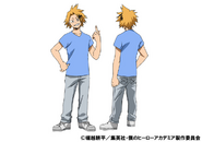 Denki Kaminari Casual TV Animation Design Sheet