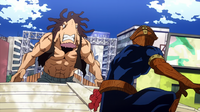 Kamui Woods vs Giant Villain