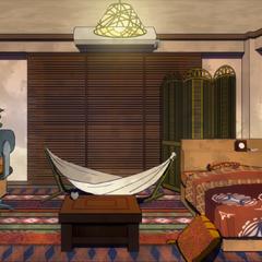 Habitación asiática de Hanta.