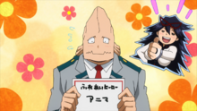 Koji chooses their hero name