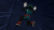 Izuku fails with his self-training