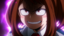 Ochaco's game face