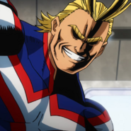 All Might Movie Portrait